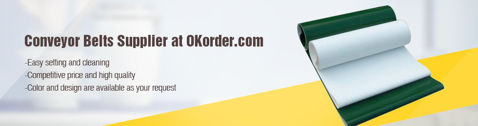 Save Up To 20% On Wholesale PVC/PU Conveyor Belt With OKorder.com!