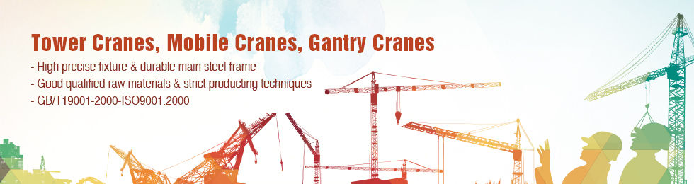 Tower Cranes, Mobile Cranes, Gantry Cranes