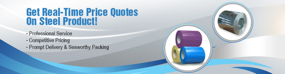 Get Real-Time Price Quotes On Steel Product!